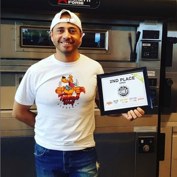 Las Vegas March 2019, Marco Caveglia reached second place international with the DESIDERIO pizza.